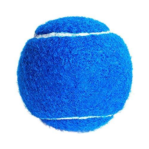 GUODOGUUP Spielzeug Für Haustiere Hund Tennisball Riesen Pet Spielzeug Für Hund Unterschrift Mega Jumbo Kinder Spielzeug Ball Für Hundetraining Liefert 4,5 cm 6,5 cm S Blau