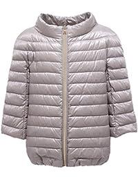 0960Y Piumino Girl Bimba HERNOgrey Silver Jacket