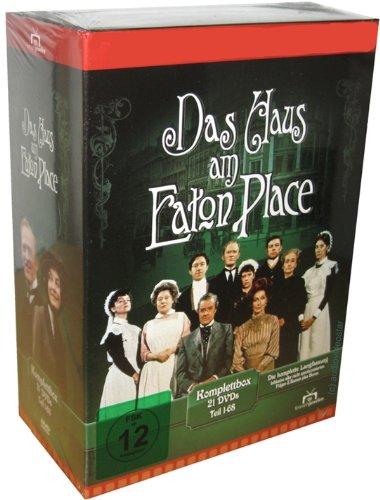 Das Haus am Eaton Place - Staffel 1+2+3+4+5 Komplettbox mit 21 DVDs - Teil 1-68 (2 Place Eaton)