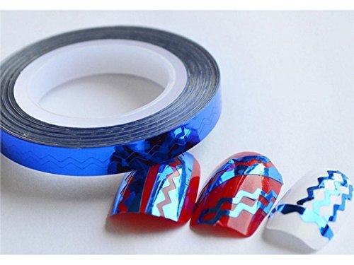 Nagel-Dekoration Fancy Streifen Striping Tape Roll Nail Art -