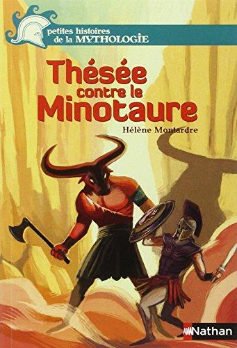 Thésée contre le minotaure par Hélène Montardre