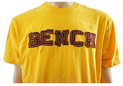 Bench -  T-shirt - Maniche corte  - Uomo arancione Orange - Orangey Yellow