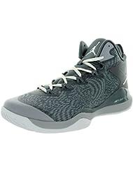 Nike Super.fly 3 zapatos de baloncesto del lobo gris fresco blanco gris 684933 004