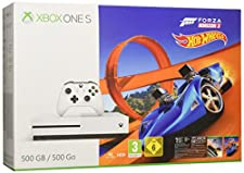 Xbox One S 500GB Konsole + Forza Horizon 3 + Hot Wheels DLC
