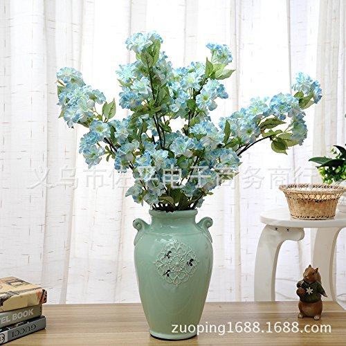 Huayifang alberi di natale sono decorate con fiori e con motivi floreali blu emulazione sakura ha preso la parola al fiore decorazione home wedding alberi di natale sono decorate con fiori di colore blu