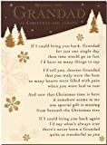 Grave Card - Grave Card - Missing You Grandad At Christmas And Always - Free Card Holder - C119
