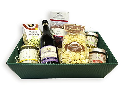 Geschenkkorb Vegan Deluxe mit ausgesuchten italienischen Spezialitäten