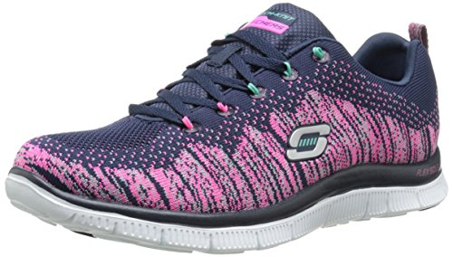Skechers Flex Appeal Talent Flair - Zapatillas de Deportes de Interior