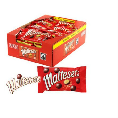 Maltesers Delicious Milk Chocolate Case of 40 Bags