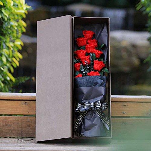 -box/Nelke Hand Strauß Rosen/Valentine-A ()