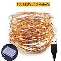 To create a festive and romantic atmosphere USB led light string is designed with 100 pcs warm white led bulbs on 10 meter long copper wire. These dew drop shaped bulbs with high brightness are truly cute and adorable. Copper wire is clean, shiny and...