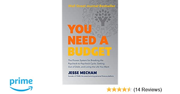 You Need a Budget: Amazon co uk: Jesse Mecham: 9780062567581