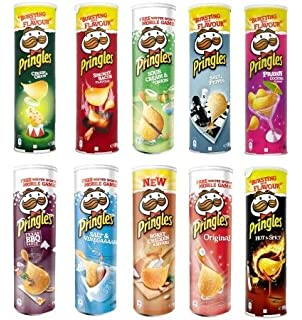 Pringles Variety Pack Potato Chips dp BVMFS