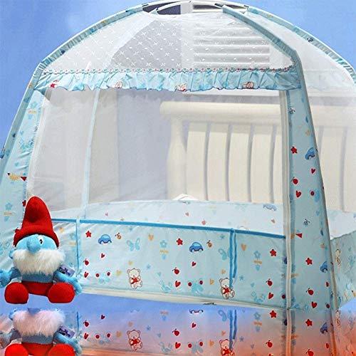 HEXbaby Zelt Playhouse - Indoor/Outdoor Playhouse für Jungen und Mädchen - fördert frühes Lernen, Social Bonding, Imagination Building und Rollenspiele,Blue