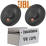 VW Lupo Front - JBL Stage 602E | 2-Wege | 16cm Koax Lautsprecher - Einbauset