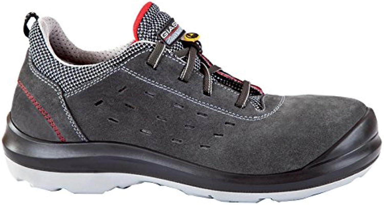 Giasco 31t32148 Stoccolma Low S1P – Zapato, tamaño 48, Negro/Blanco