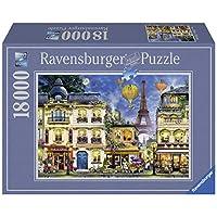 Ravensburger-Erwachsenenpuzzle-17829-Ravensburger-17829-Abendspaziergang-durch-Paris-Erwachsenenpuzzle