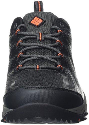 Columbia Peakfreak Xcrsn II Xcel Low Outdry, Chaussures de Randonnée Basses Homme, Noir (Black/Bright Red 010) Shark, Blaze