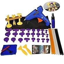Shitongda 39pcs Dent extractor puente conjuntos equipo de reparación de abolladuras herramienta de reparación de eliminación