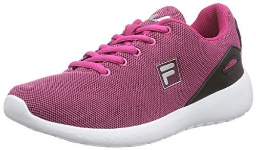 Fila Fury Run, Baskets Basses femme Rose - Pink (KNOCKOUT PINK)