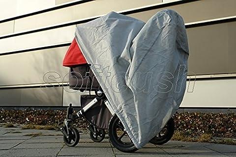 softcush Abdeckung für Kinderwagen ABC-Design 3-Tec Regenschutz