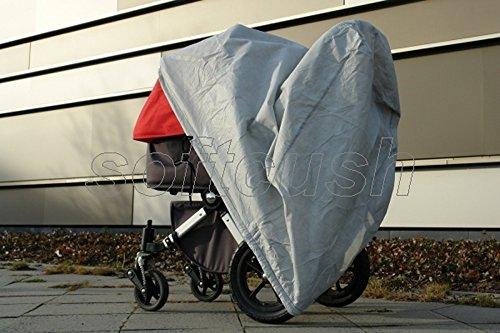 softcush Abdeckung für Kinderwagen Bugaboo Cameleon Regenschutz Regenverdeck