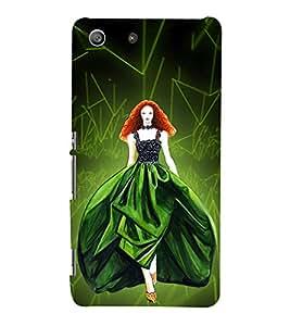 Beautiful Princess 3D Hard Polycarbonate Designer Back Case Cover for Sony Xperia M5 Dual E5633 E5643 E5663 :: Sony Xperia M5 E5603 E5606 E5653