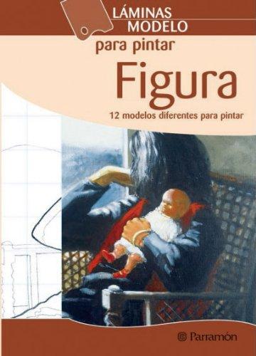 LAMINAS MODELO PARA PINTAR FIGURA (Láminas modelo para pintar) por EQUIPO PARRAMON