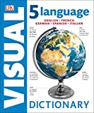 5 Language Visual Dictionary: English, French, German, Spanish, Italian