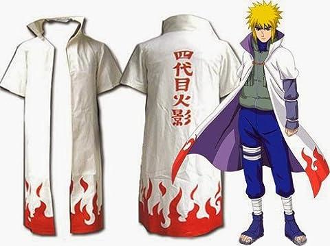 CoolChange veste de Minato Namikaze, le quatrième Hokage, de Naruto. Taille : XL