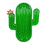 Kaktus Floating Popsicle Große Schwimmende Insel Aufblasbare Schwimmende Bett Schwimmende Liegen Outdoor Swimmingpool Wesentliche Geeignet Für Spielplatz Strand Urlaub Party (70 In X 51 In)