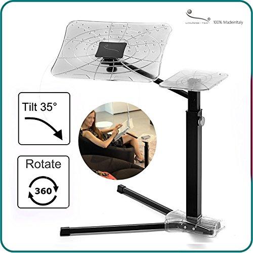 voll verstellbarer ergonomischer Riser für Notebooks (Ergonomische Computer-cart)