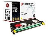 Original Reton Premium Toner, kompatibel, OEM Qualität, Gelb für Dell 3130 (593-10291 / H515C, G485F), 3130, 3130cdn, 3130cn, Gelb (9000 Seiten)