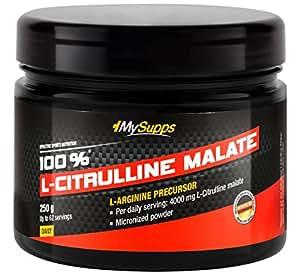 My Supps 100% L-Citrulline Malate, 250 g