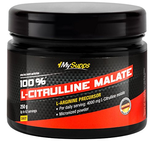 My Supps 100% L-Citrulline Malate, 250 g Pulver, 1er Pack (1 x 250 g Beutel)