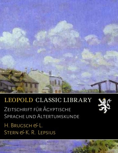 zeitschrift-fur-agyptische-sprache-und-altertumskunde