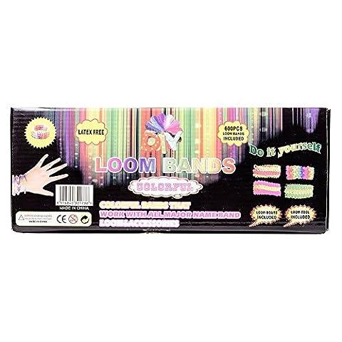 Crochet Loom - Métier à tisser et 600 élastiques en