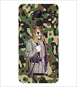 PrintDhaba Funny Dog D-4683 Back Case Cover for COOLPAD NOTE 3 LITE (Multi-Coloured)