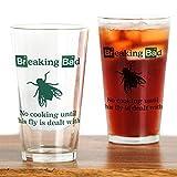 CafePress Breaking Bad Fly Trinkglas