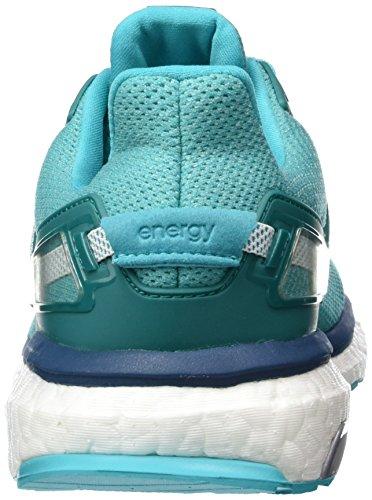 adidas Performance Energy Boost 3, Scarpe da Corsa Donna Verde / Blanco (Verimp / Ftwbla / Minera)