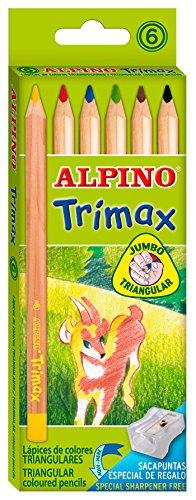 Preisvergleich Produktbild Buntstifte ALPINO Trimax 6Stück