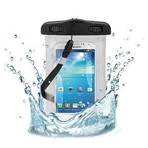 Wicked Chili Beachbag für Samsung, Nokia, LG, HTC, Motorola, Huawei - Schutzhülle für Strand, Wandern, Outdoor (Schutz gegen Staub, Sand, Nässe / wasserdicht bis 3m Tiefe / IPx8)