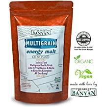 The Great Banyan Organic Multigrain Energy Malt 100% Natural - 300 G