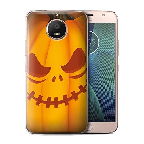 für Motorola Moto G5S/Unheimlich Muster/Halloween Kürbis Kollektion (Scary Stuff Für Halloween)