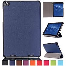 Xiaomi mipad 2 Funda de Piel,Azul oscuro Ultra Delgado Ligero PU Cuero Book Cover Funda Carcasa para Tablet Xiaomi mipad 2 7.9'' Pulgadas Funda de Piel Caso con Soporte funtion [No para Xiaomi mipad 7.9'']