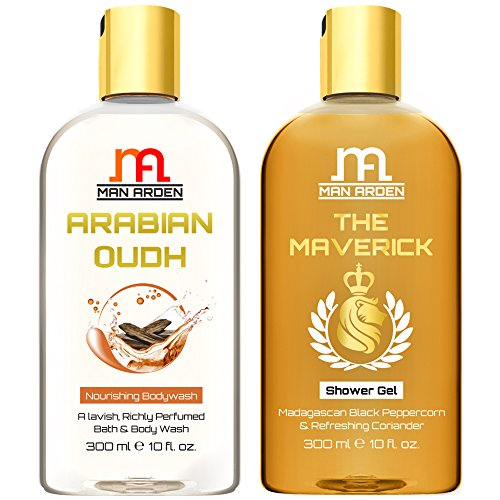 Man Arden Arabian Oudh + The Maverick Luxury Shower Gel with Essential Oils - 300 ml