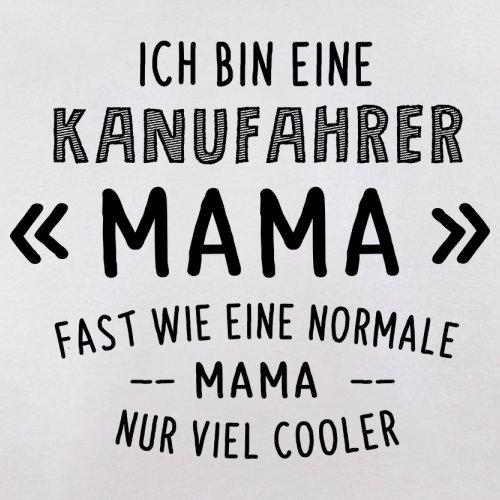 Ich bin eine Kanufahrer Mama - Herren T-Shirt - 13 Farben Weiß