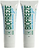 (2 Pack) - Biofreeze - Biofreeze Gel | 59ml | 2 PACK BUNDLE