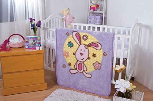 babymink-luxurious-baby-crib-sherpa-blanket-with-pink-cuddly-bunny-by-baby-mink