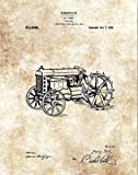 Henry Ford Tractor Design Print - 11 x 14 Unframed Patent Print - Ranch House Decor - Great Gift for Farmers and Landscapers